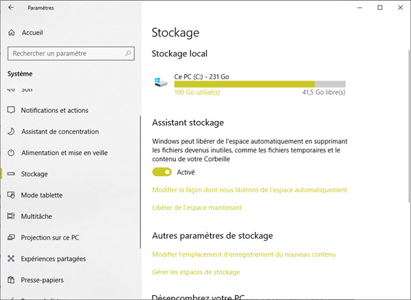 Astuce Corbeille Windows
