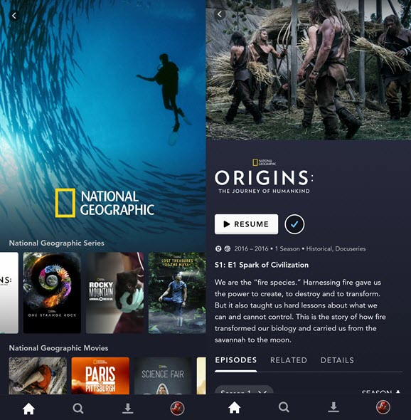 national geographic french content disneyplus