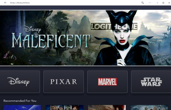 Disney+ Windows 10