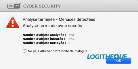 ESET performance détection