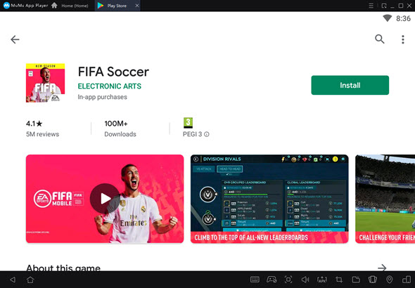 FIFA Mobile PC play