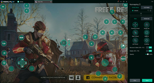como jugar free fire en windows 7