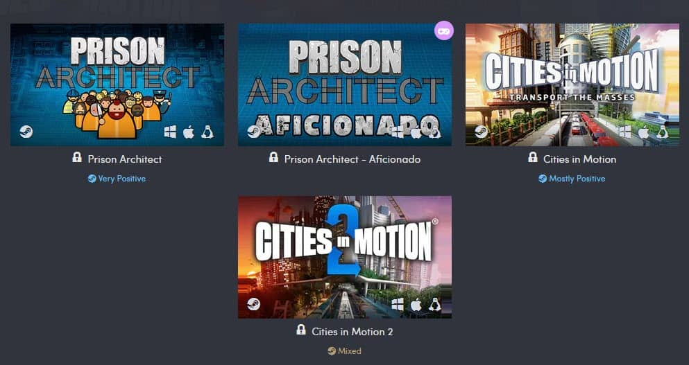 Prison Architect Humble Bundle