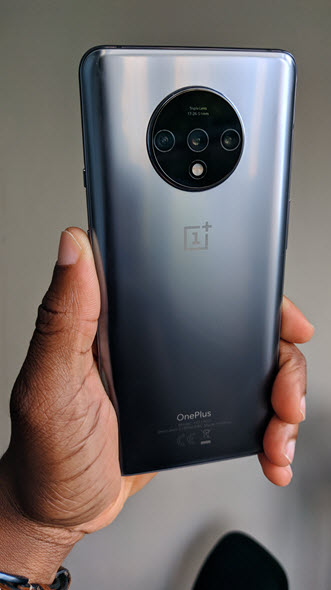 OnePlus7T Frosted Silver