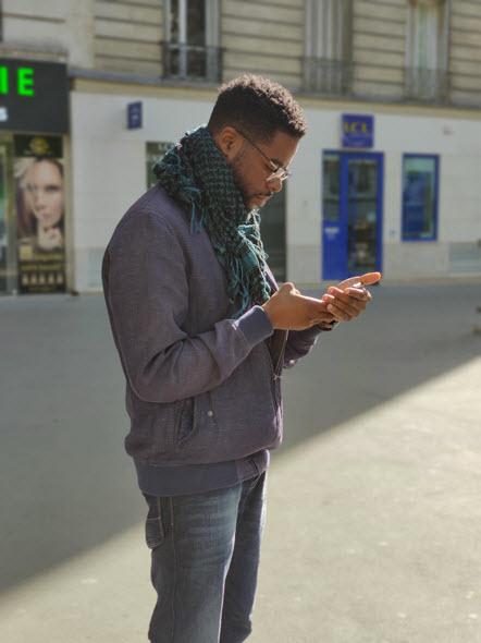 Portrait Mode OnePlus 7T