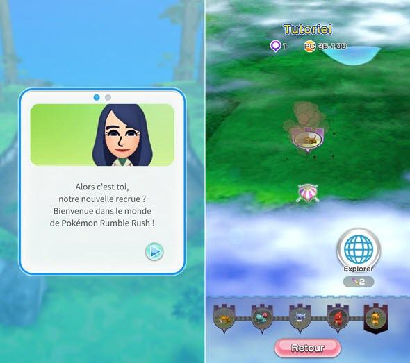 Pokémon Rumble Rush iOS Android