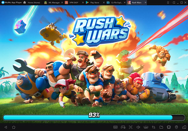 Rush Wars PC Launch