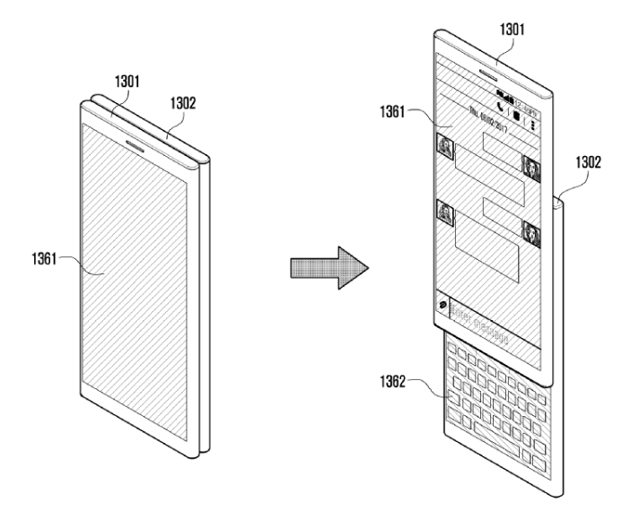 Smartphone écran détachable
