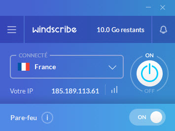 windscribe ok