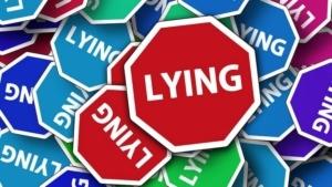 logo lying panneau stop