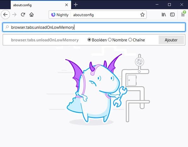 Firefox memory leak fix