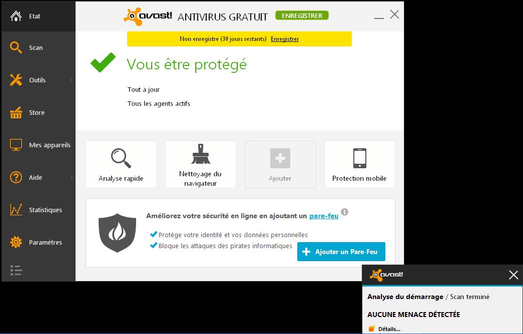 Avast! Antivirus Gratuit