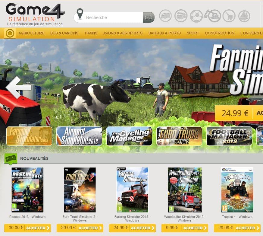 Nouvelle boutique Game4