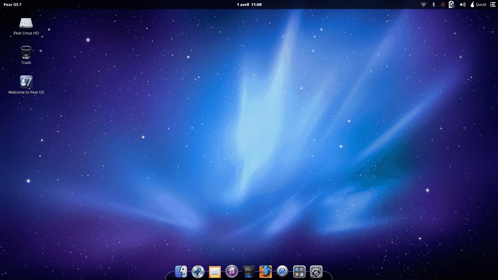 Pear OS X 7