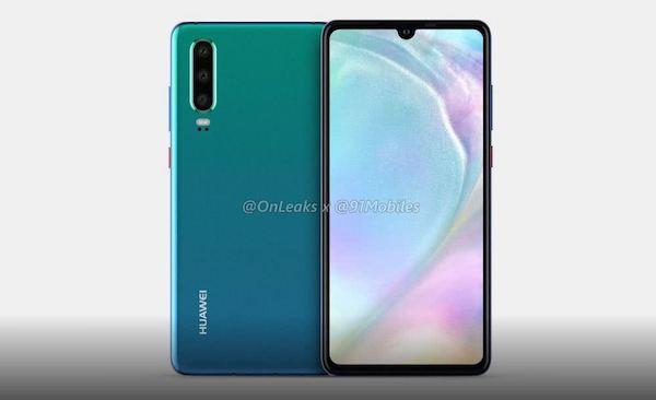 Huawei P30 OnLeaks