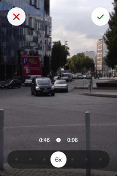 hyperlapse acceleration video