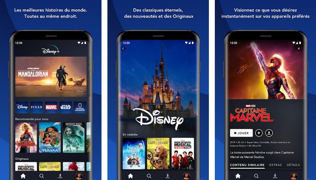 Disney Plus screenshot app google play