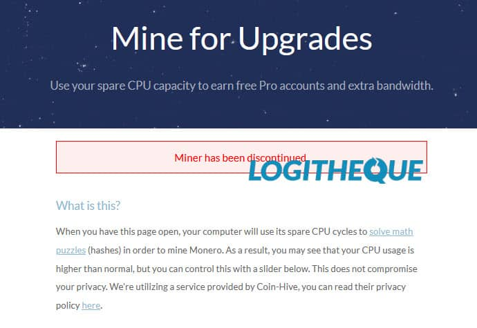Mine for upgrades Windscribe