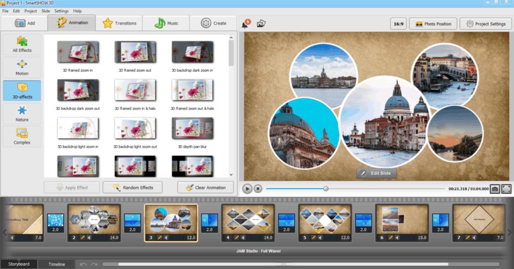 Photoworks in smartshow3d