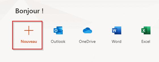 Nouveau Office 365