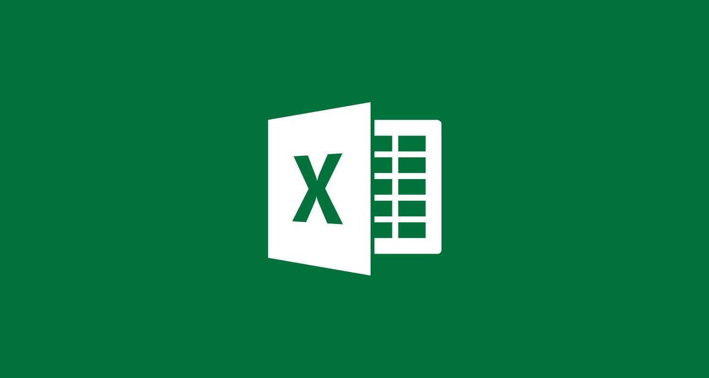 Microsoft excel bannière