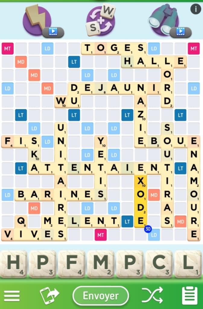 Scrabble Go plateau