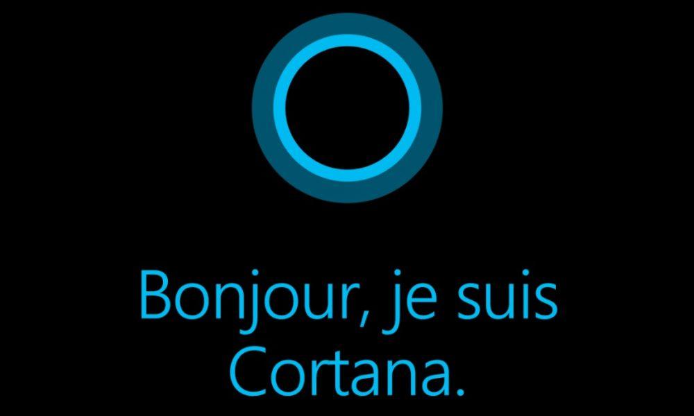 Capture d'écran de Cortana