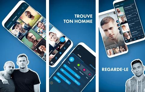 application smartphone rencontre gay à Joué lès Tours