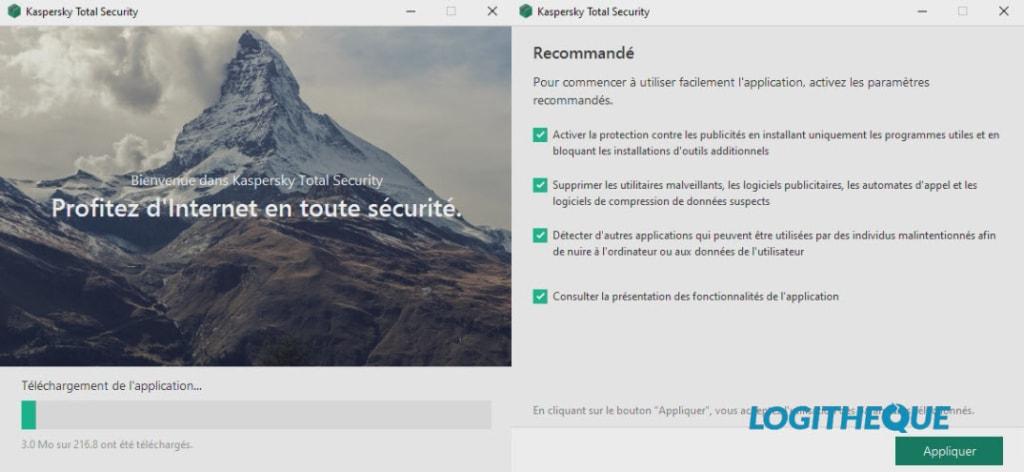 Kaspersky Total Security Installation