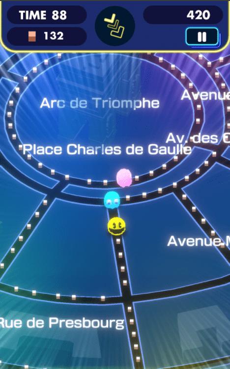 Pac Man géo paris