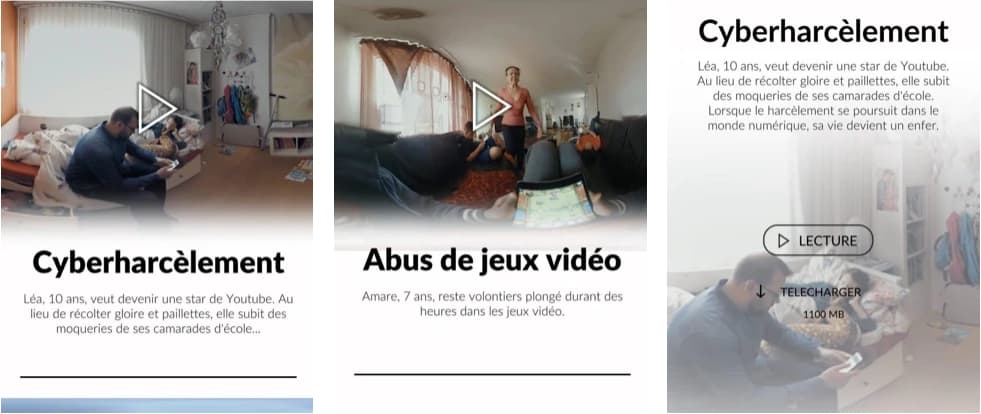 jeunes et medias VR