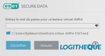 ESET Secure Data Password